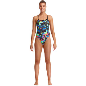 Funkita Twisted Swimsuit Women, Multicolor